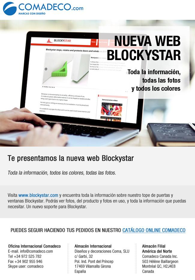 Nueva web Blockystar