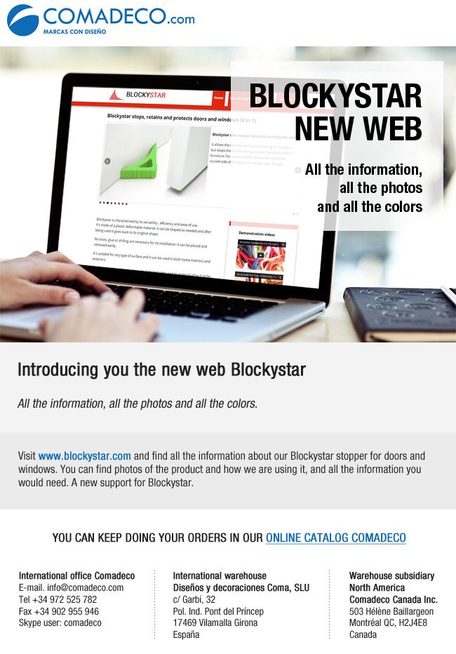 Blockystar new web