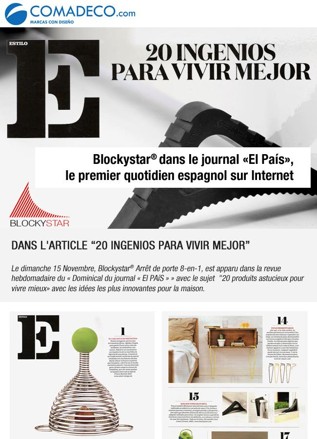 Blockystar dans le journal El País