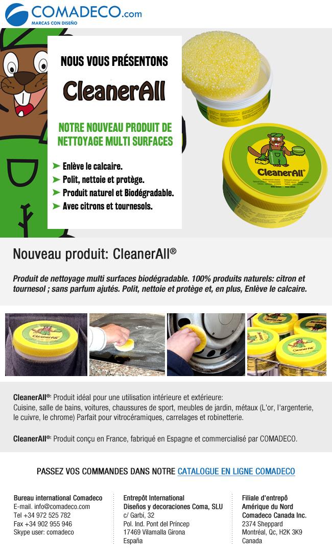 Nouveau produit: CleanerAll