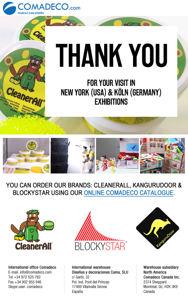 THANK YOU for your visit in New York y Köln exhibitions