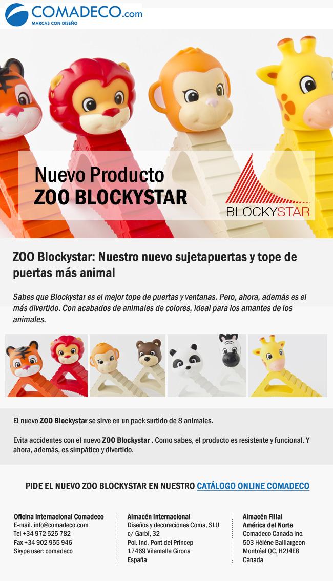 Nuevo producto ZOO BLOCKYSTAR
