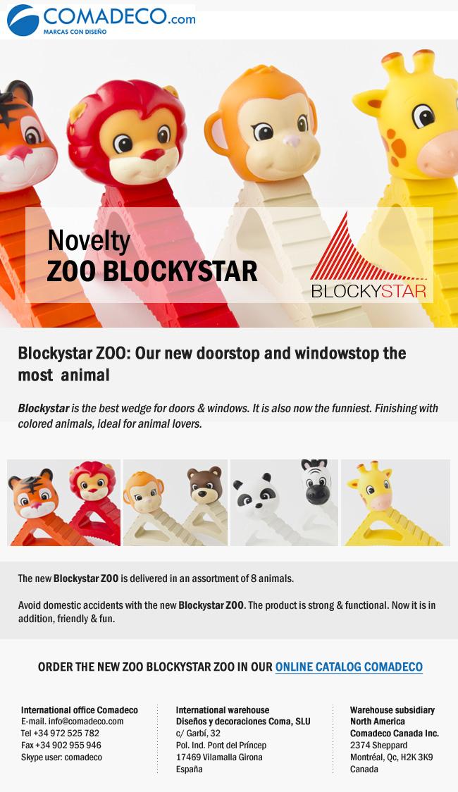 New product ZOO BLOCKYSTAR