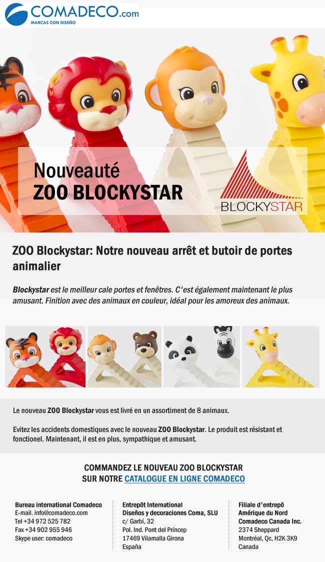 Nouveauté ZOO BLOCKYSTAR
