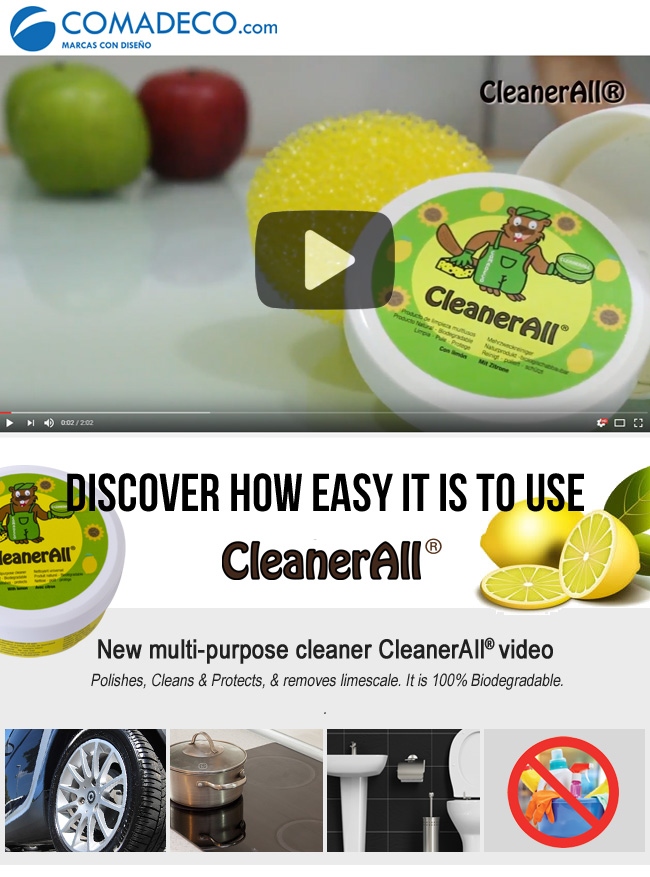 New multi-purpose cleaner CleanerAll video