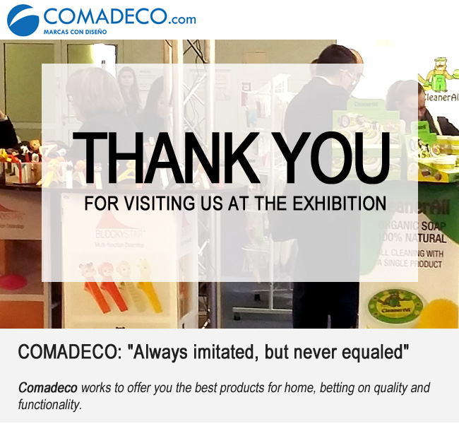 THANK YOU for visiting us at the exhibition