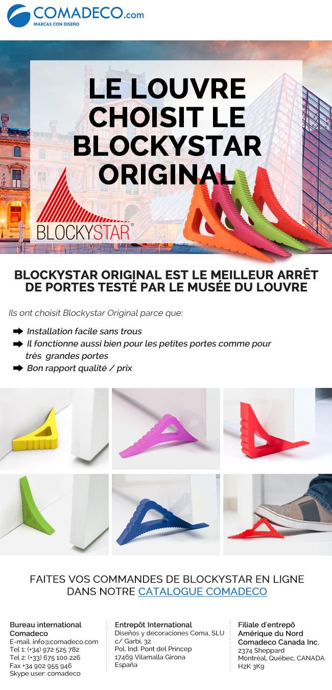 Le Louvre choisit le BlockyStar Original