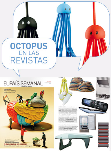 Octopus en las revistas