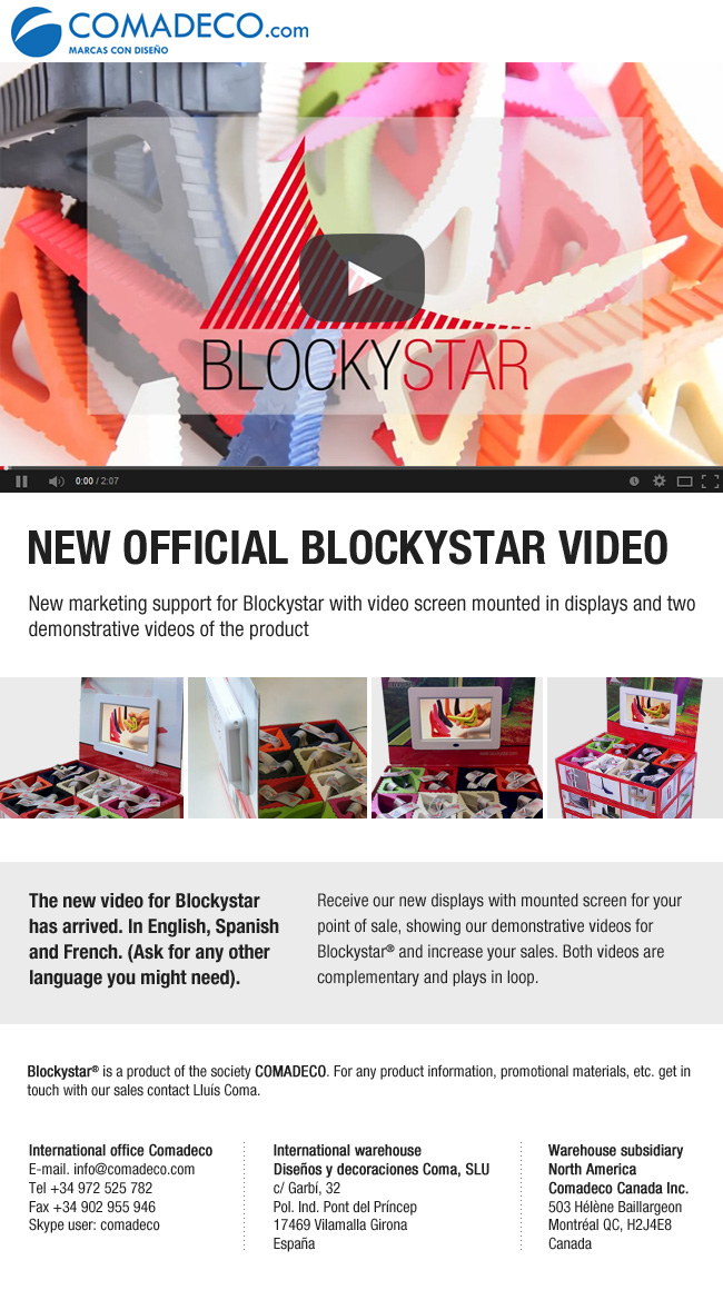 New official Blockystar video