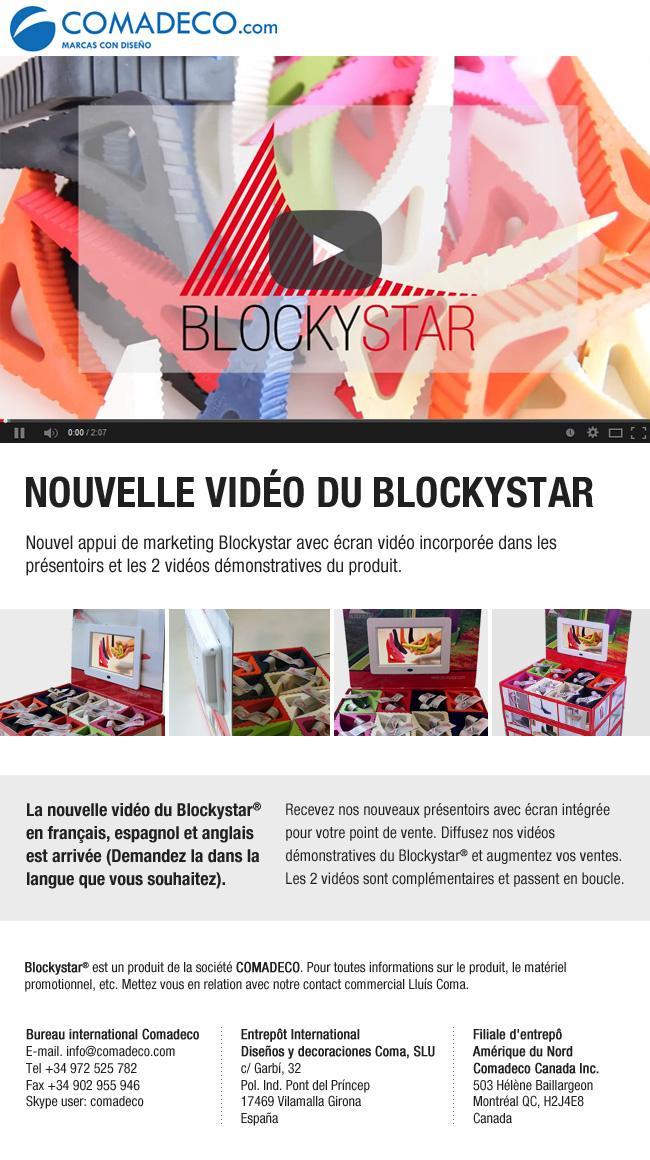 Nouvelle vidéo du Blockystar
